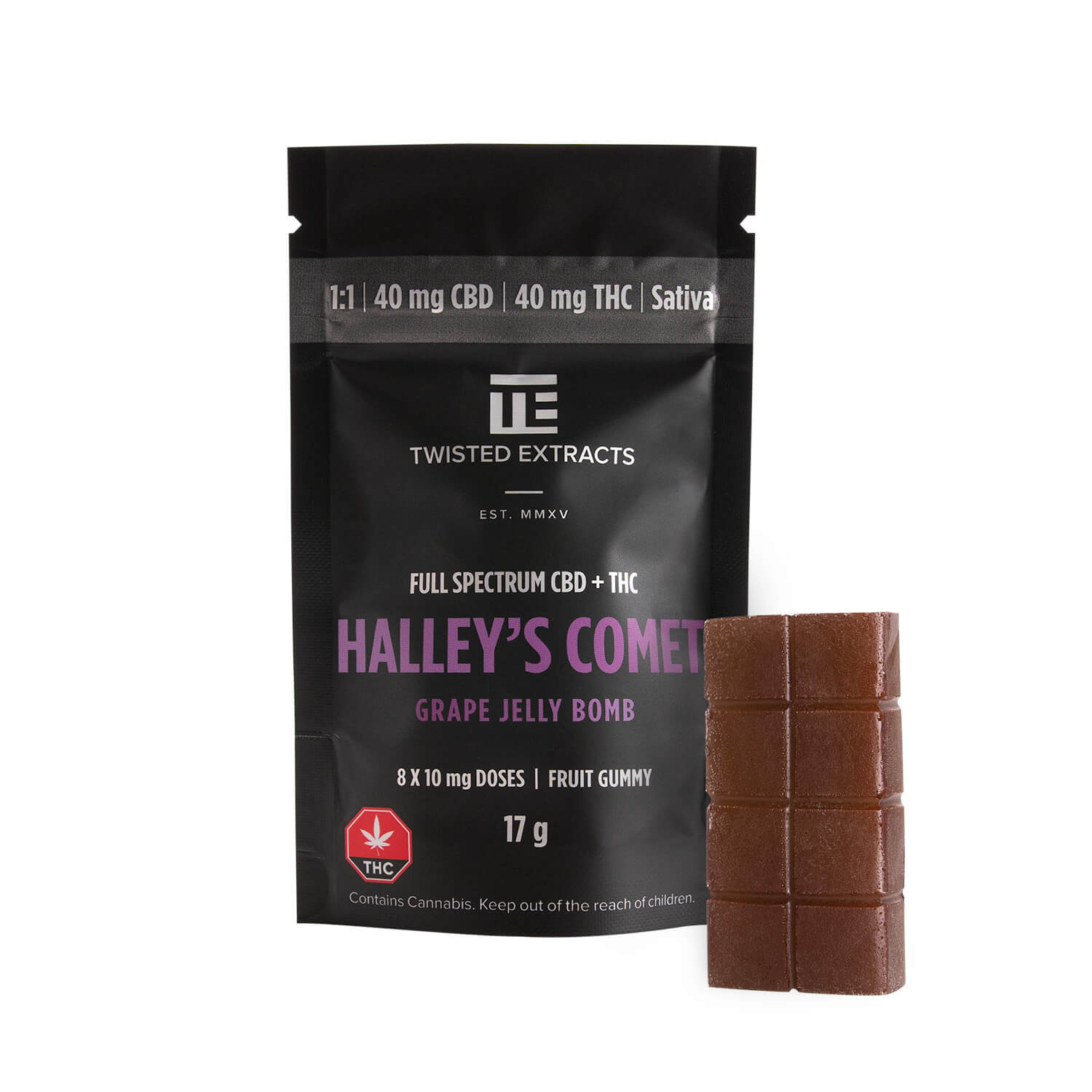 Halley's Comet Grape Jelly Bomb   My Pure Canna   Weed Edibles