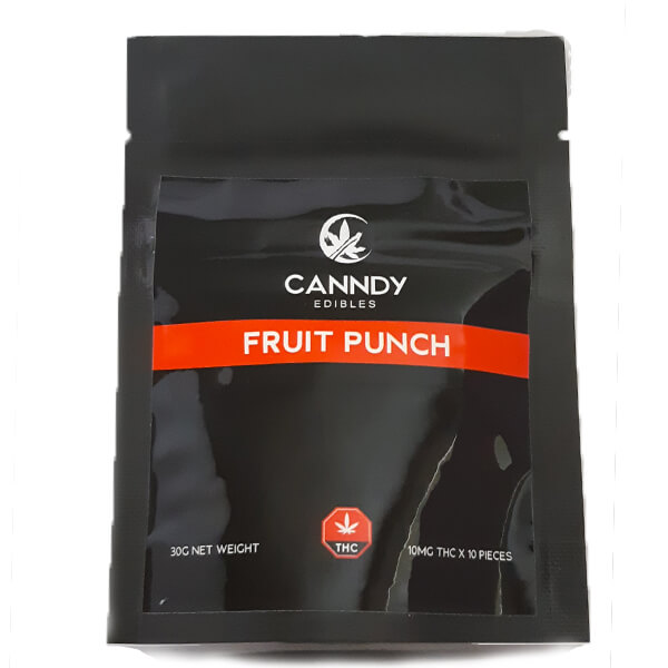 CANNDY EDIBLES Fruit Punch   My Pure Canna   Weed Edibles