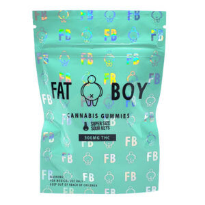 Fat boy 300mg THC Gummies Sour Key