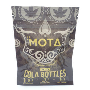MOTA 120mg Sativa Cola Bottles