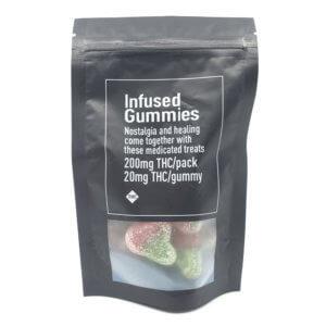 MPC 200mg THC Gummies Cherry
