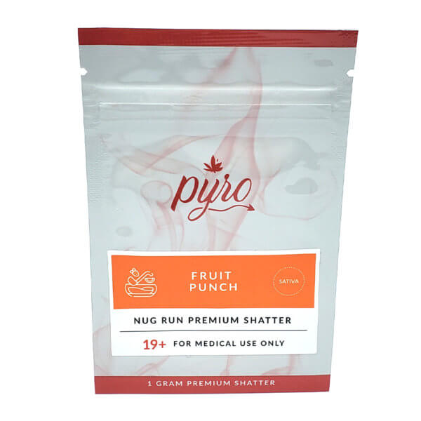 Pyro Extracts Premium Shatter Fruit Punch