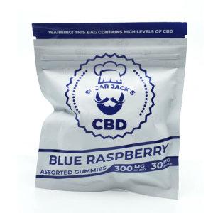 Sugar Jacks - 300mg CBD Gummies (Blue Raspberry)