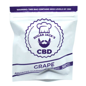 Sugar Jacks - 300mg CBD Gummies (Grape)
