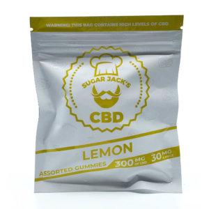 Sugar Jacks - 300mg CBD Gummies (Lemon)