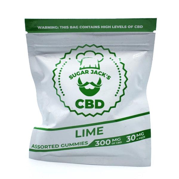 Sugar Jacks - 300mg CBD Gummies (Lime)