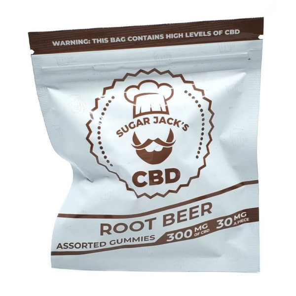 Sugar Jacks - 300mg CBD Gummies (Root Beer)