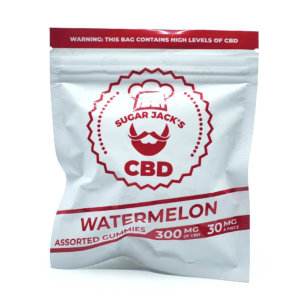Sugar Jacks - 300mg CBD Gummies (Watermelon)
