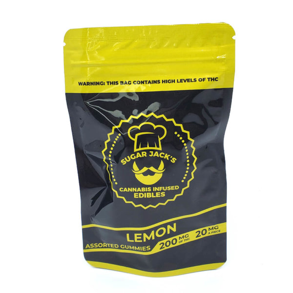 Sugar Jacks - 200mg Gummies (Lemon)