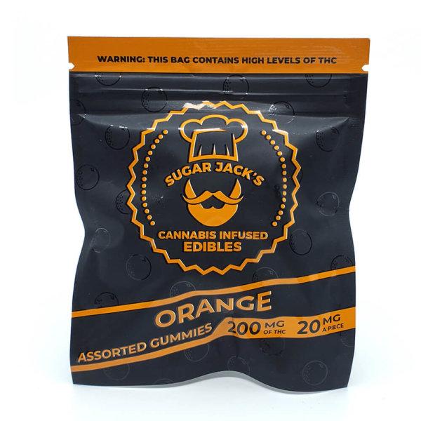 Sugar Jacks - 200mg Gummies (Orange)