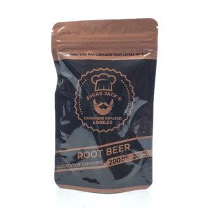 Sugar Jacks - 200mg Gummies (Root Beer)