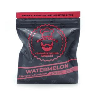 Sugar Jacks - 200mg Gummies (Watermelon)