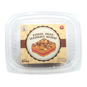 Sugar Jacks Almond Pecan Cranberry Squares