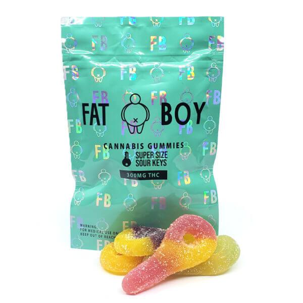 FatBoy - Supersized Sour Keys (300mg THC)