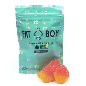 FatBoy - Plump Peaches Gummies (300mg THC)