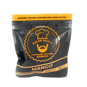Sugar Jacks - 200mg Gummies (Mango)